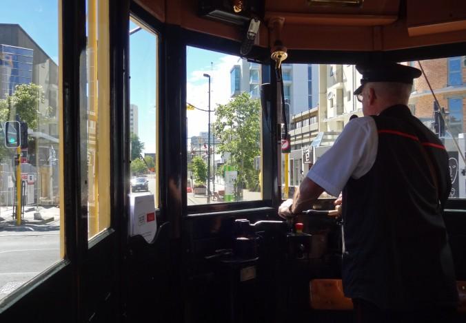 Inside tram174
